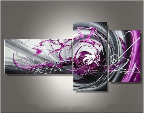 Tableaux Design Triptyque Modernes Et Abstraits Ejrac
