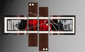 Tableaux design Choco red
