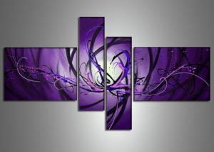 Tableaux design purpple landra