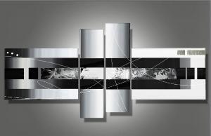 tableaux design noir blanc lenya