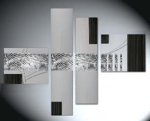 Tableaux design metal abstraits et modernes ejrac - Tableaux contemporains pas cher ...
