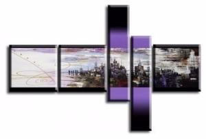 Tableau design Violet city