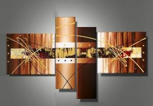 Tableaux design Chocolat et Or