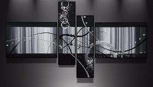 tableau abstrait d coration moderne art abstrait ejrac. Black Bedroom Furniture Sets. Home Design Ideas