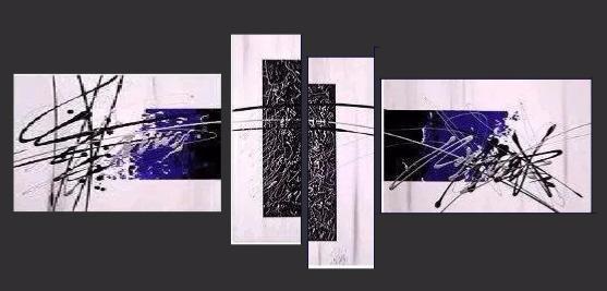 Tableau moderne eternity violet nacre