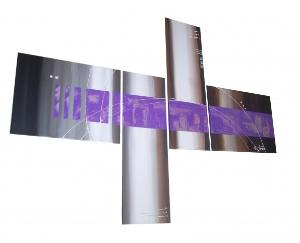 Tableaux design purpple passion