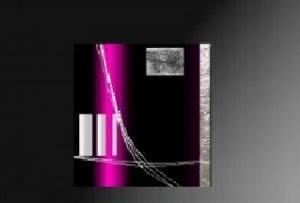 Tableaux design fuschia modernes et abstraits ejrac - Tableau couleur prune ...