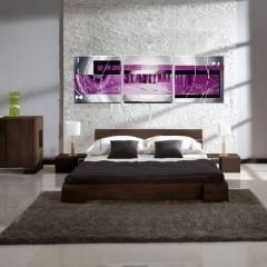 Tableaux Design Fuschia Modernes Et Abstraits Ejrac