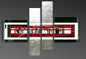 Tableaux design metal peintre contemporain ejrac - Tableau design metal ...