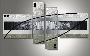 Tableaux design metal abstrait