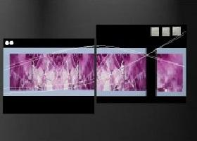 tableaux design fuschia modernes et abstraits ejrac. Black Bedroom Furniture Sets. Home Design Ideas