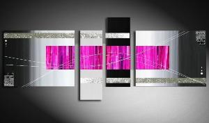 Tableaux design Black Fushia
