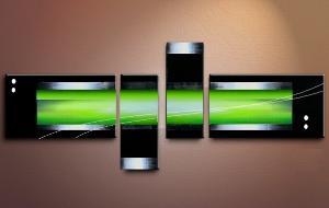 tableau moderne vert