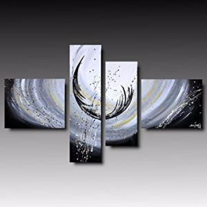 Tableaux design Plume metal