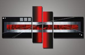 Tableaux design Red abstraction
