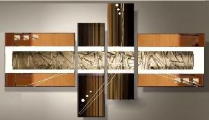 Tableaux design Choco beige