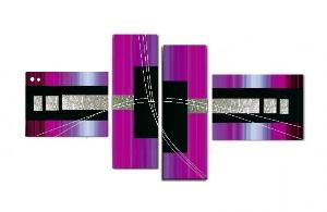 Tableaux design Fushia Light