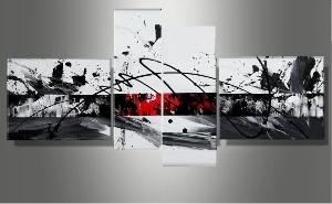 Tableaux design Black N White Signature